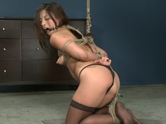 Amazing blowjob, anal adult scene with exotic pornstars TJ Cummings and Jayna Oso from Dungeonsex