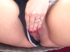Big tits milf pov and creampie