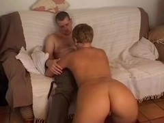Milf having fun