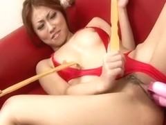 Horny Japanese girl Saki Kozakura in Best JAV uncensored Fingering scene