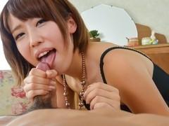 Fabulous Japanese chick Seira Matsuoka in Incredible JAV uncensored Blowjob video