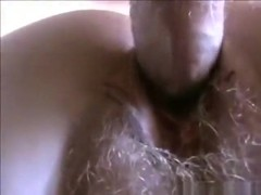 Milf has a threesome with her husband and friend ' big red'