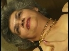 Grannies can't live without youthful cum