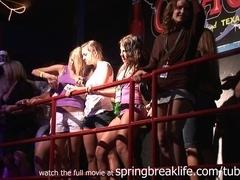 SpringBreakLife Video: Spring Break Girls On Stage
