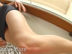 Asstraffic hot brunette takes a cumshot after anal sex
