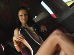 Regina gets a load of sperm inside her on All Internal