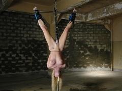 Best fetish sex clip with hottest pornstar Samantha Sin from Waterbondage