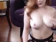 Horny Webcam clip with Redhead scenes