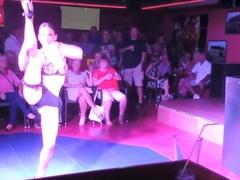 Naked on Stage 127 Sticky Vicky