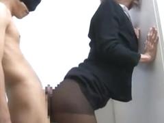 Hottest Japanese girl Haru Sakuraba in Exotic Handjobs, Ass JAV movie
