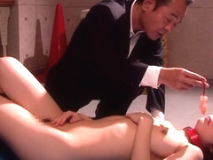 Horny Japanese chick Anju Sana in Exotic JAV censored College, Small Tits clip
