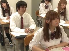 Amazing Japanese model Riona Minami, Chika Hiroko, Ramu Hoshino, Ayane Shinoda in Exotic college, .