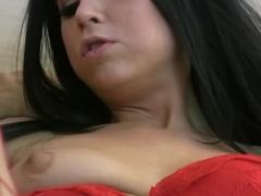 Exotic pornstar Chloe Adams in horny brunette, stockings porn video