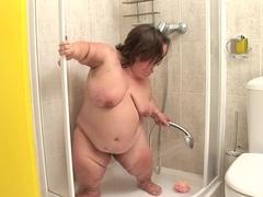 Amazing pornstar Gidget The Monster Midget in hottest bbw, solo sex movie