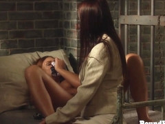 The Education of Adela: Whip And Grope Chained Lesbian Slave Body