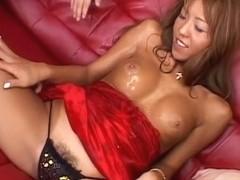 Fabulous Japanese girl in Incredible JAV uncensored Creampie video