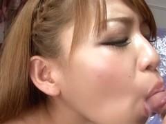 Best Japanese slut Ruru Kashiwagi in Crazy JAV uncensored Blowjob video