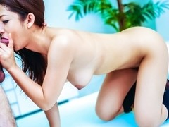 Crazy Japanese girl Satomi Suzuki in Amazing JAV uncensored Lingerie movie