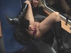 Fucked on the train.