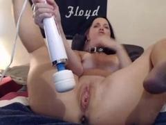 pornstar milf double dildo