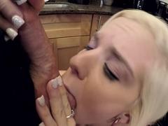 ThisGirlSucks - Halle Von Sucks Huge Cock