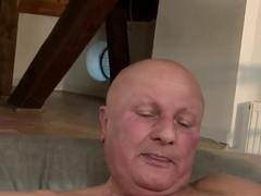Diana Stewart pleasing a grandpa and his old cock with her pussy