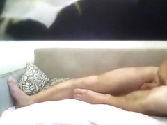 My_cocaine: Russian couple in front of webcam