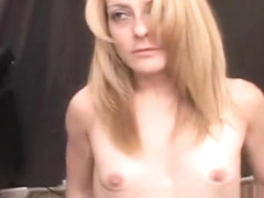 Slim blonde milf Gina rides the sybian and indulges in strong orgasms