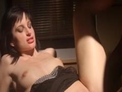 Horny pornstar Ava Courcelles in fabulous brunette, interracial porn movie