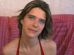 anal loving french girl gets fisted