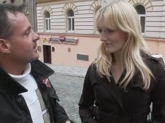 Horny pornstar Denisa Heaven in best facial, masturbation adult movie