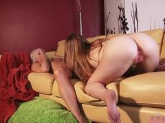 Crazy pornstars Chloe Lynn, Aurielee Summers in Fabulous Brunette, Lesbian adult clip