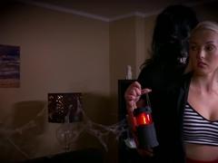 Lovita Fate In Halloween shocker for pretty teen