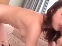 Incredible Japanese model Risa Kasumi in Amazing Doggy Style, Big Tits JAV scene