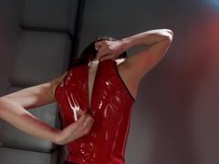 Crazy fetish sex scene with exotic pornstar Aiden Ashley from Fuckingmachines