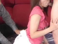 Incredible Japanese slut Megumi Shino in Fabulous JAV Uncensored, Threesomes JAV scene