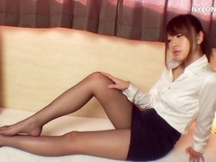 nylon pornstar hose footjob cum practice