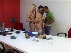 Brazilian Shemale 5 - Shemale Threesome