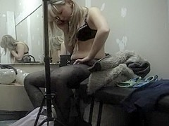 Spy cam in changing room