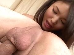 Amazing Japanese slut Megumi Shino in Hottest JAV uncensored Blowjob clip