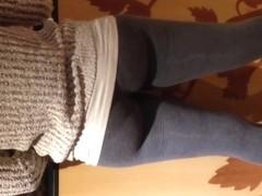 Nice black Milf in leggings
