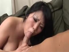 Cute curvy asian double penetration