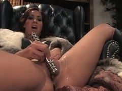 Exotic squirting, fetish adult video with amazing pornstar Isis Love from Fuckingmachines