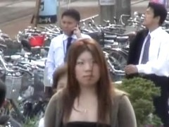 Top sharking encounter with bodily Japanese bitch being caught of the guard