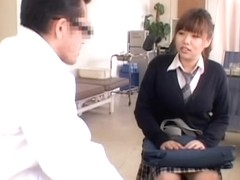 Kinky Gyno examination for a hot Japanese teen slut
