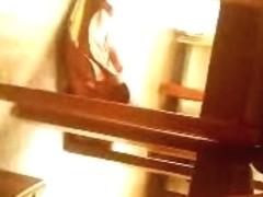 under table (girls)