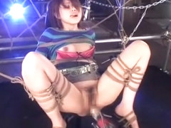 Horny Japanese chick Rino Mizusawa in Crazy Fetish, Fucking Machines JAV video