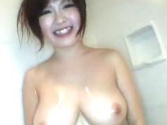 Fabulous Japanese girl Rio Hamasaki in Hottest Showers, Big Tits JAV movie