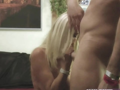 Young german boy fuck mature blond skinny milf real horny wife
