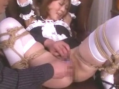 Best Japanese chick in Horny Dildos/Toys, Maid JAV movie